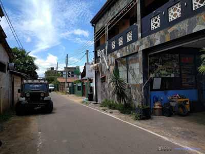 Street in North Negombo