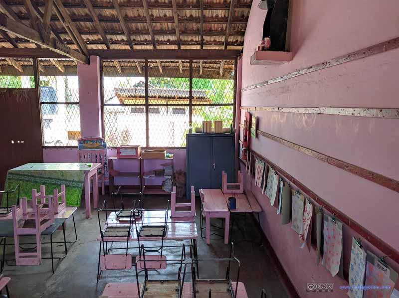 Classroom of St. Sebastian's Church School