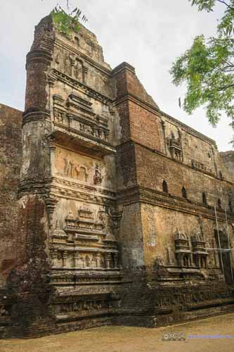 Relief on Lankatilaka Vihara Walls