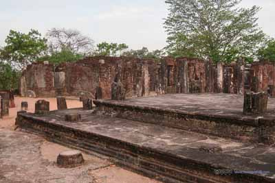 Central Platform of Badda Sima Prasadaya