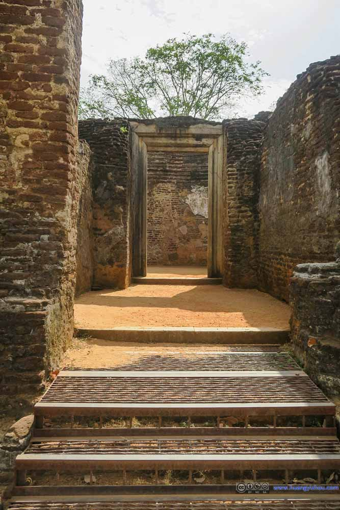 Passage to Circular Shrine