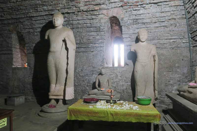 Buddha Image in Thuparamaya