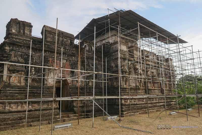 Thuparamaya under Renovation