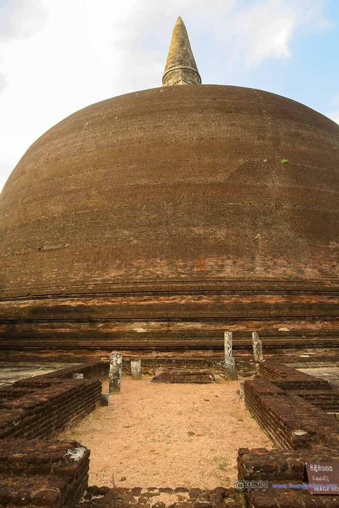 Remains of Image House before Rankoth Vihara