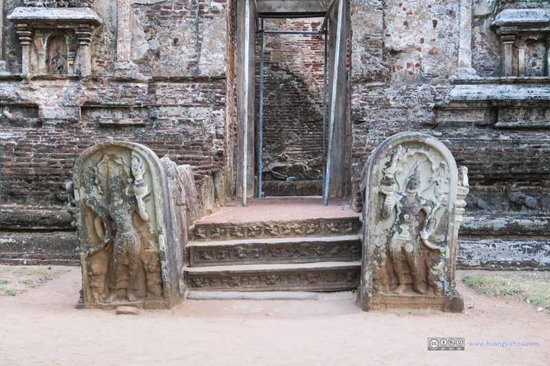 Guardstone of Lankatilaka Vihara