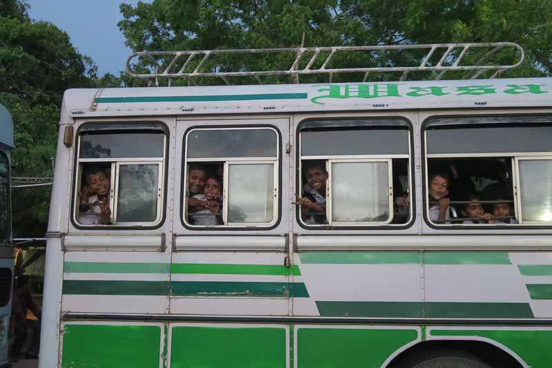Children on Schoolbus