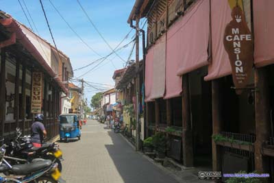 Streets of Galle Fort