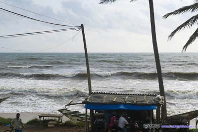 Indian Ocean and Coastal Road