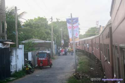 Scenes along Railway Track