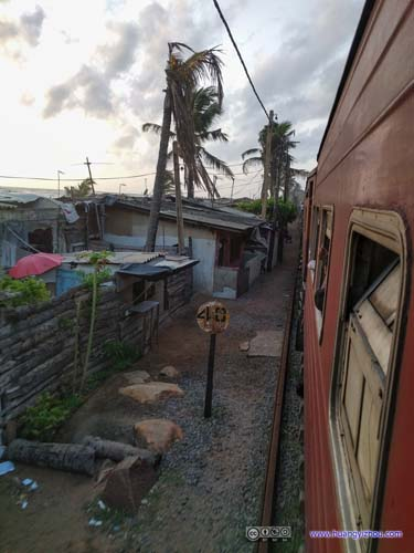 Villages by Railway Track