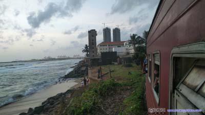 Coastal Railway near Colombo