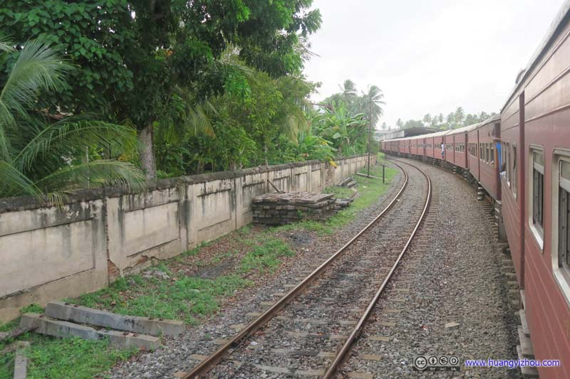 Approaching Aluthgama Railway Station