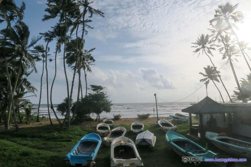 Boats by Ocean
