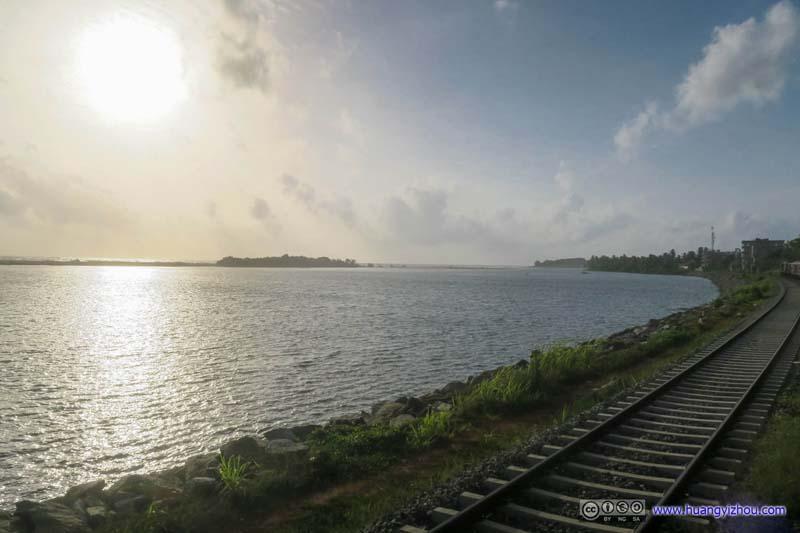 Sunshine over Kalu River