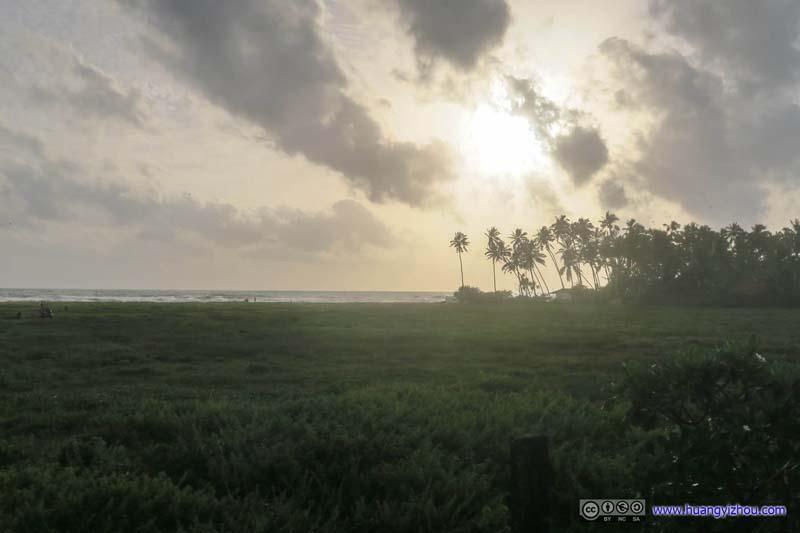 Fields by Indian Ocean