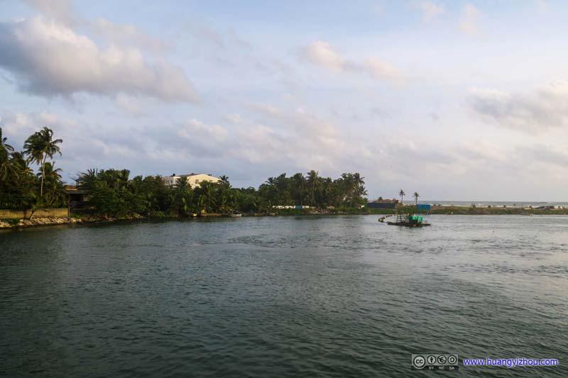 Village by Bolgoda River