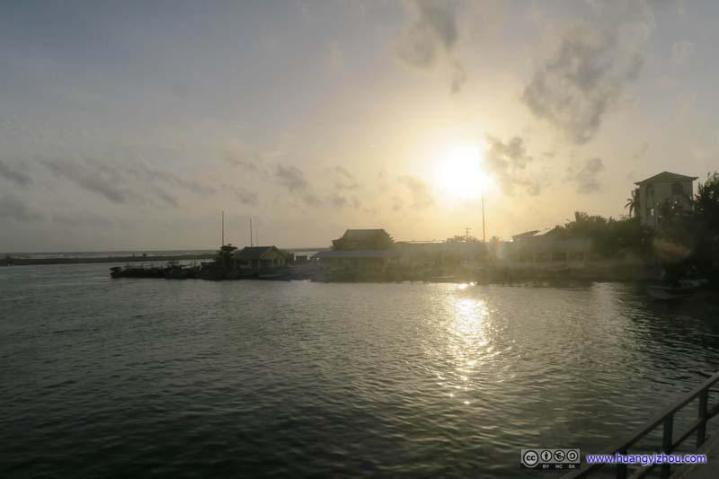 Sunshine over Bolgoda River