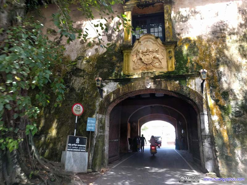Main Gate into Galle Fort