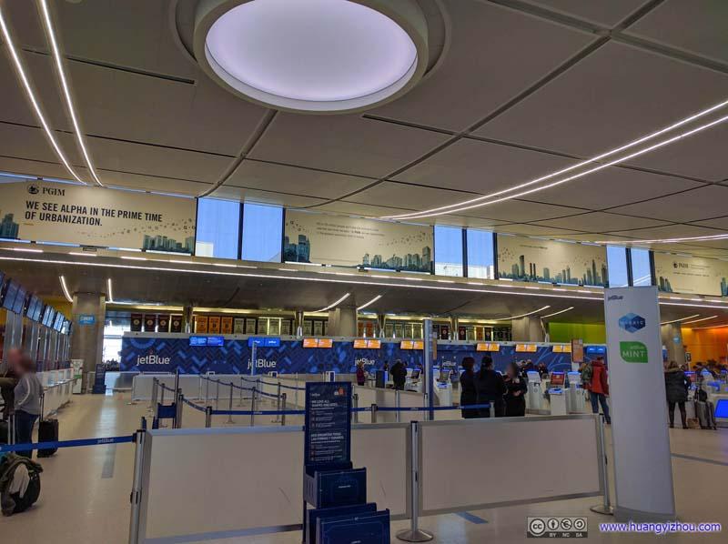 Boston Airport Terminal C Interior