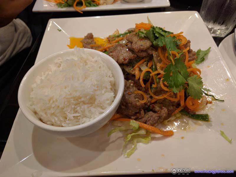 Dinner at Lucky Corner Restaurant