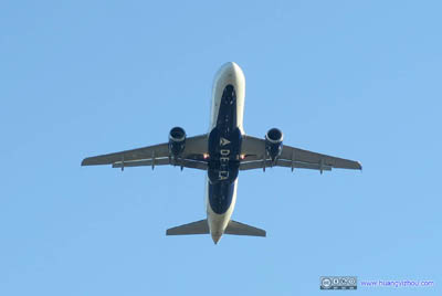 Delta A321 Taking Off