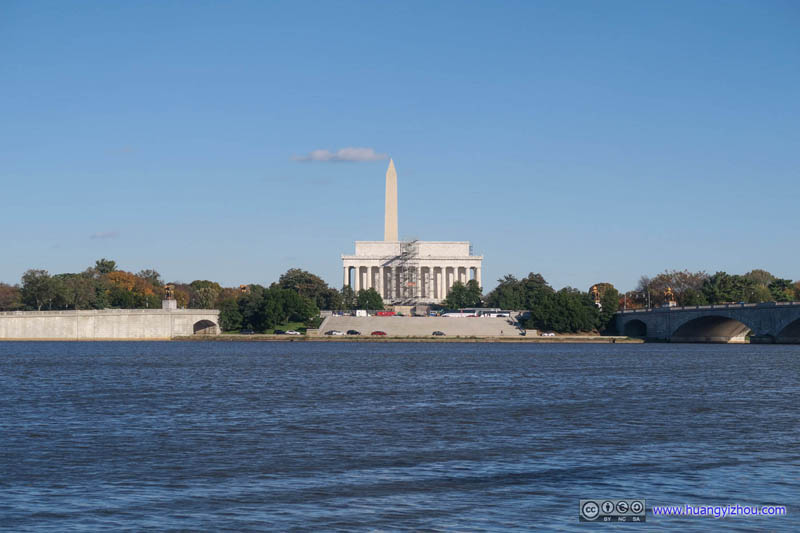 Lincoln Memorial and Washington Monument