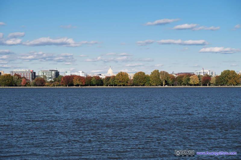 US Capital across Potomac River