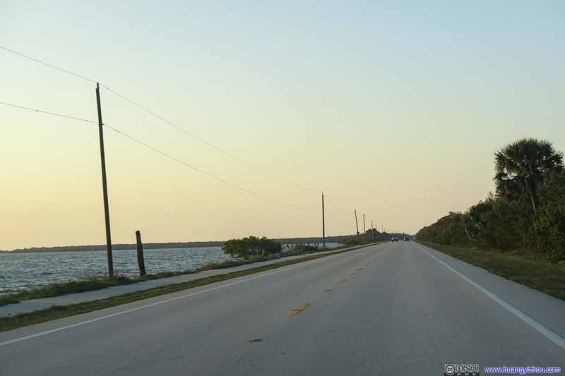 Florida Route A1A by Indian River