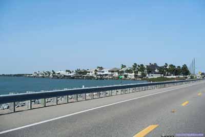 Route A1A along Matanzas River