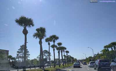 Traffic Jam into St. Augustine