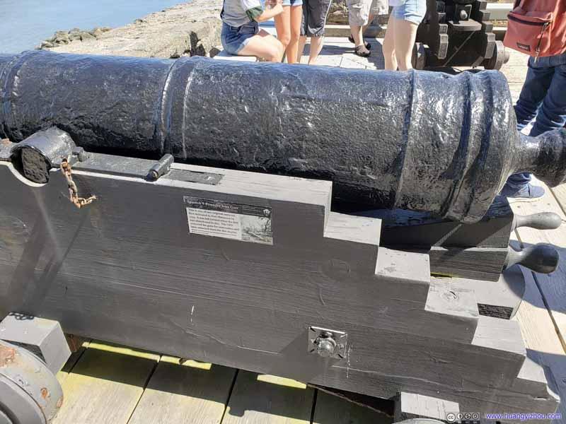 Spanish 8-Pounder Iron Gun