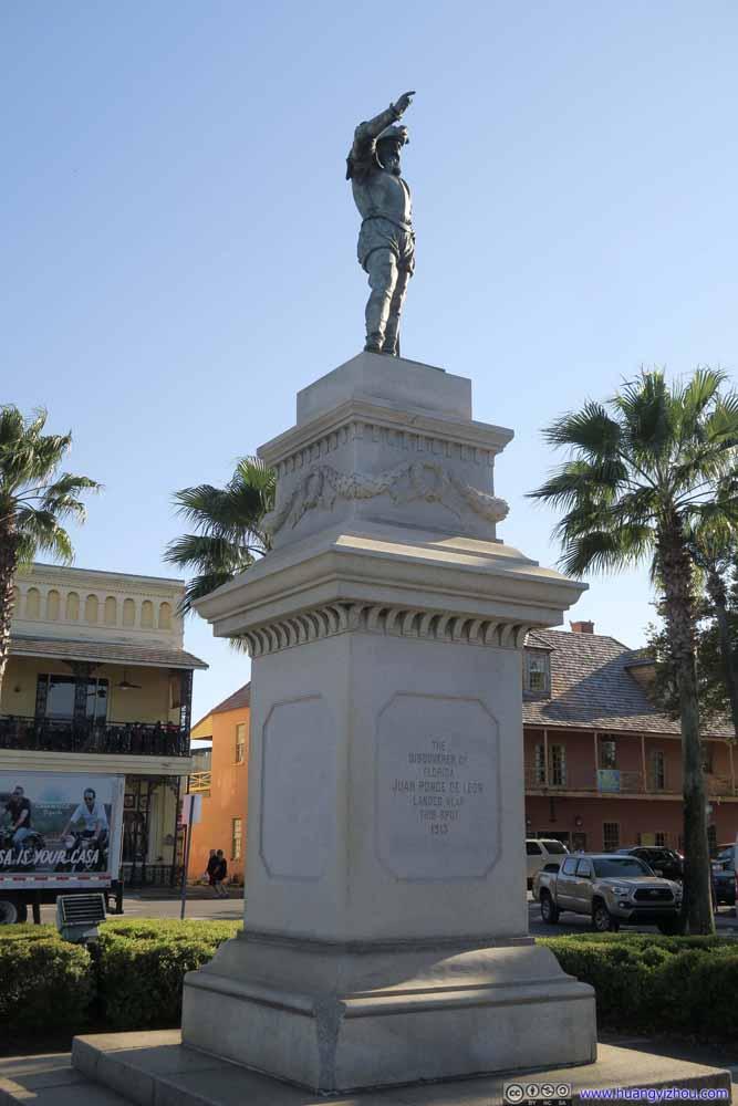 Monument of Juan Ponce de Leon