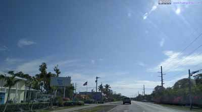 Overseas Highway on Key Largo