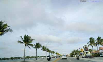 Street Along Bay