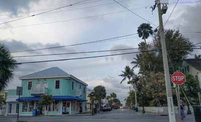 Streets in Downtown Key West