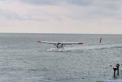 Seaplane Arriving