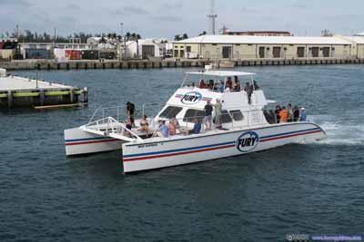 Tour Boats Leaving Key West Harbor
