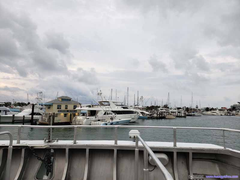 Boats in Key West Harbor