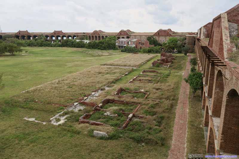 Foundations in Parade Ground