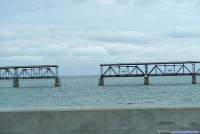 Openings in Bahia Honda Railroad Bridge