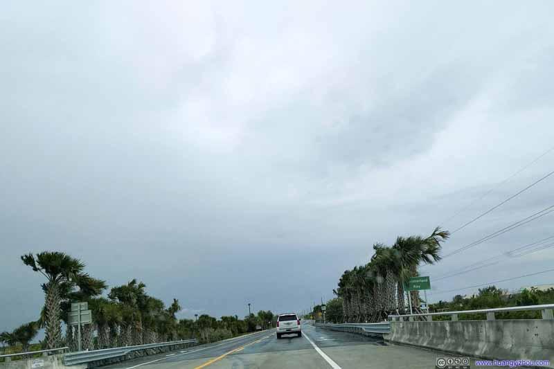 Approaching Summerland Key