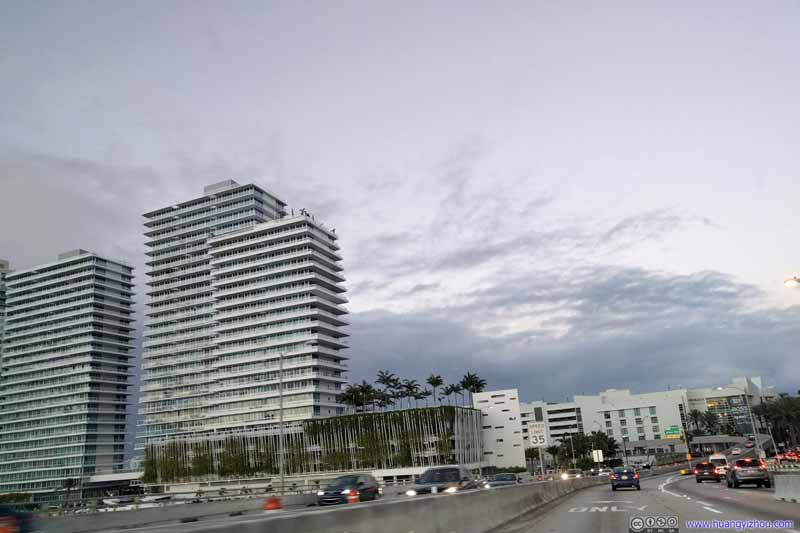 Onto Miami Beach Island