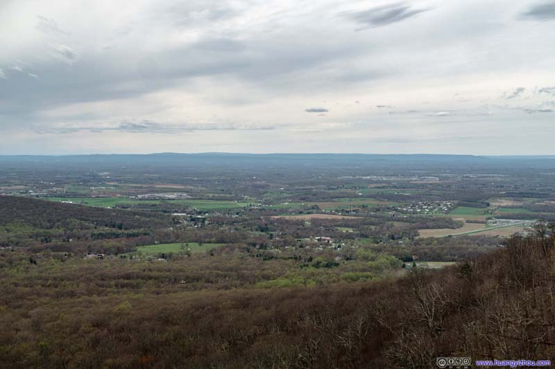 Overlook from Annapolis Rock
