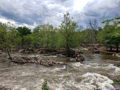 Islands in Potomac River
