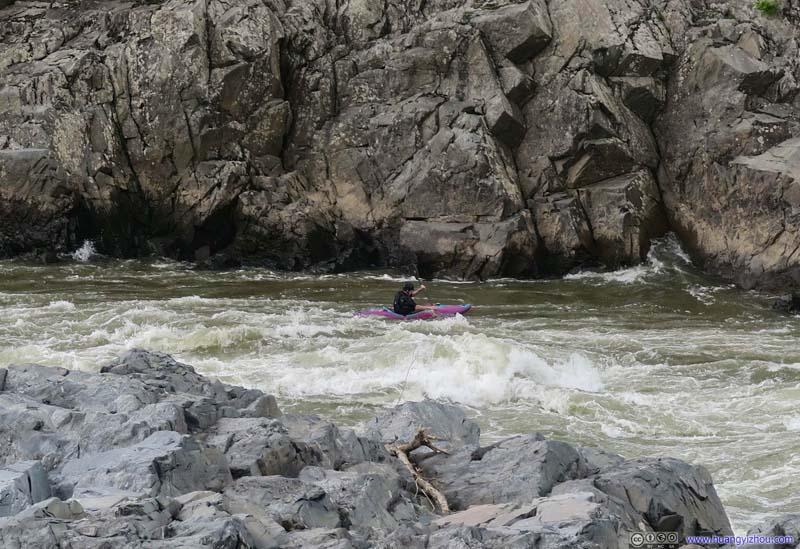 Kayaker in Great Falls