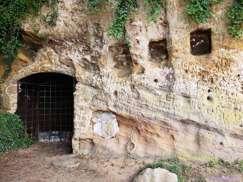 Cave as British Headquarter