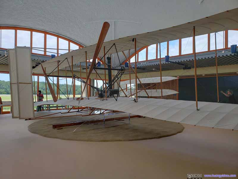 Model of Wright Brothers' Plane