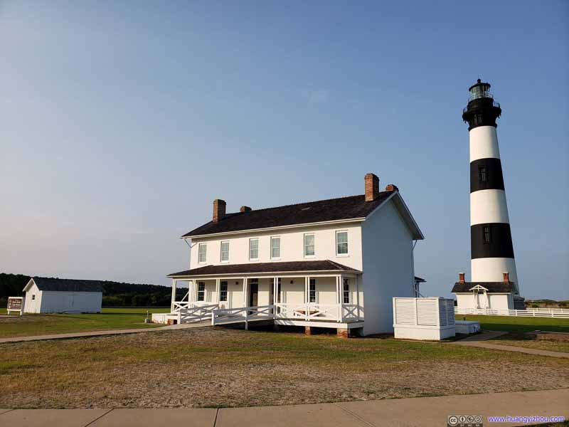 Lighthouse and Support Building