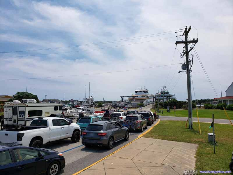 Line for Ferry