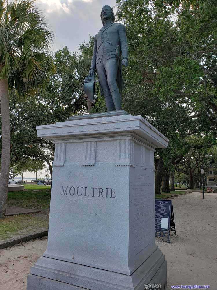 Statue of William Moultrie